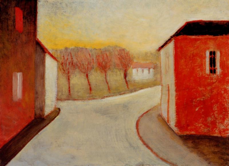 (G 372 - nummer onbekend)   Rue - Hilmar Schäfer - 1990