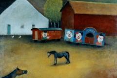 (G 384)  Zweeds Circus  van Hilmar Schäfer