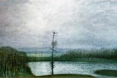 (G 47)   Winterlandschap van Hilmar Schäfer