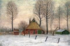 2091       Winterlandschap (Groningen)   -    Hilmar Schäfer - zl
