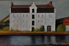 4047     Het Witte Pakhuis aan de Marwixkade (Groningen)   -   Hilmar Schäfer - zhl