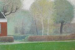 809        Tuin met 2 Berkebomen (Groningen)   -   Hilmar Schäfer - zhl