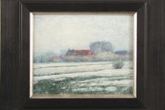 Winterlandschap  -  Hilmar Schäfer - mhl