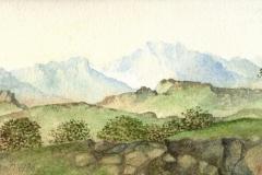 1059      Berglandschap   -   Hilmar Schäfer -  zp