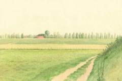 4036        Weiland met boerderij    -   Hilmar Schäfer - zp