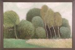 Landschap met 4 Berkenbomen  -  Hilmar Schäfer - mhl