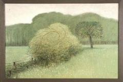 Landschap met rozenstruik  -  Hilmar Schäfer - mhl