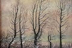 nummer onbekend - Bomen in de sneeuw - Hilmar Schäfer - zhl