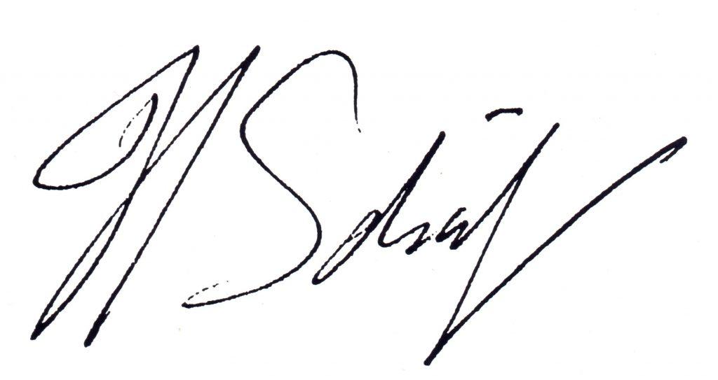 Hilmar's handtekening