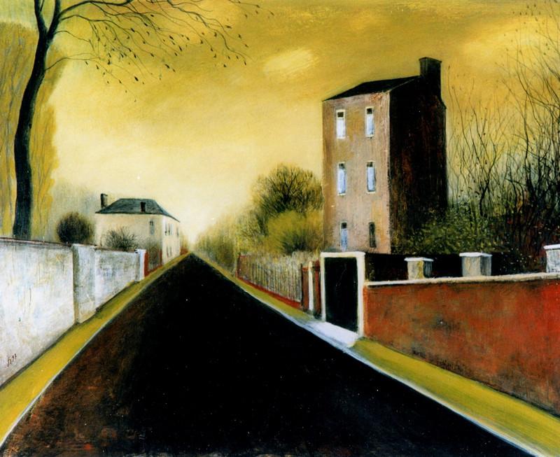 Schilderij 801 La Route in Frankrijk