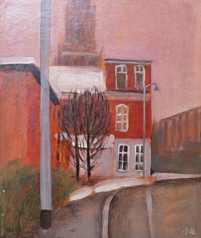 3086 Kreupelstraat (Groningen) van Hilmar Schäfer zonder houten lijst