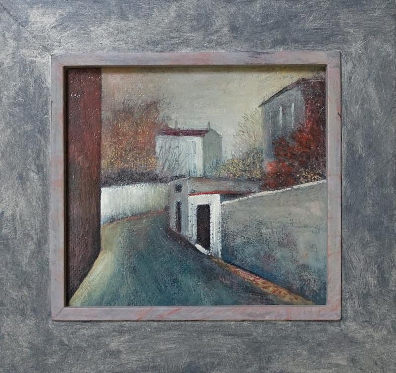 738 Ruelle (Steeg) - Hilmar Schäfer - met houten lijst