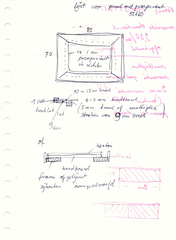 Uitleg van Hilmar Schäfer hoe je een houten lijst maakt.